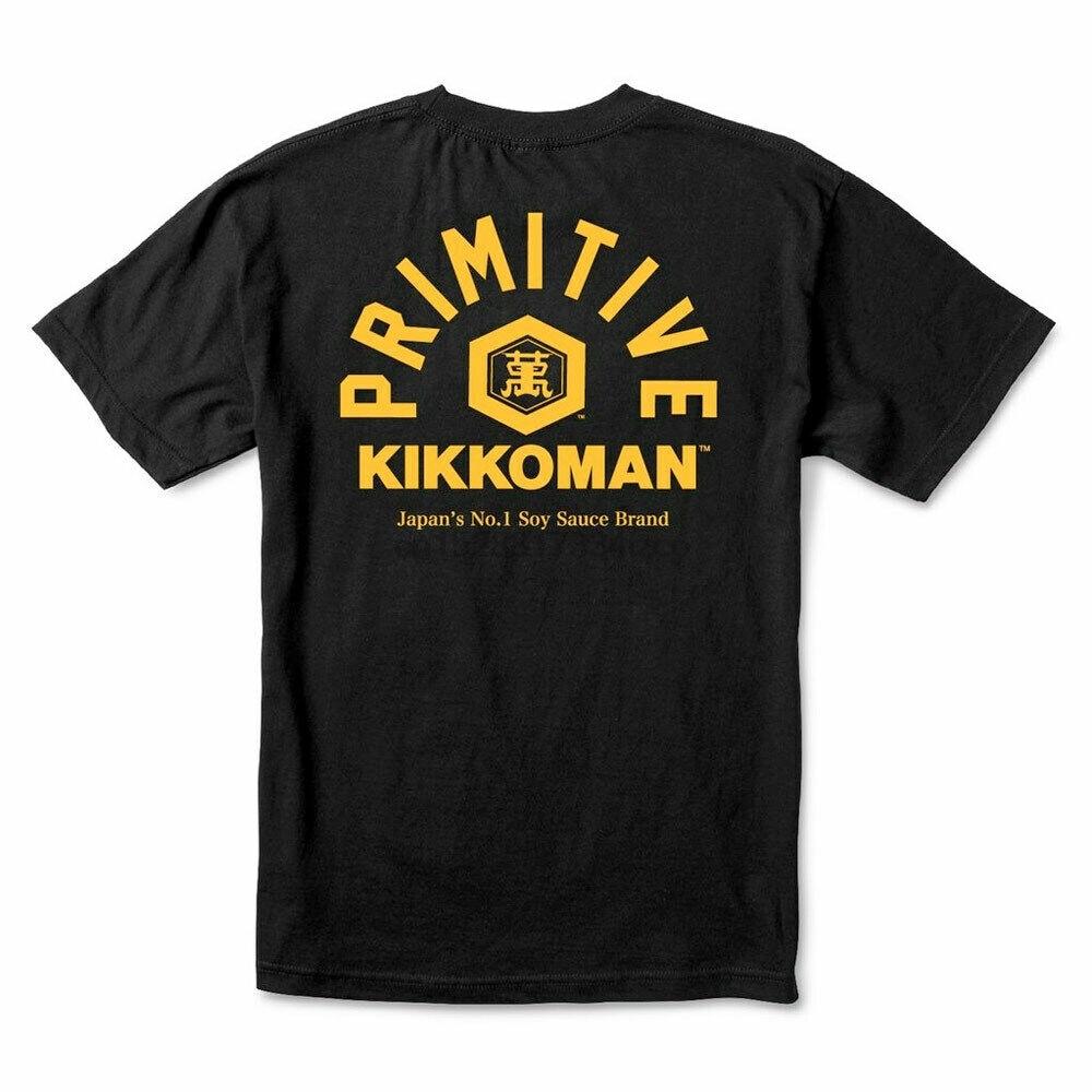 Подлинная примитивная X Kikkoman Soy Футболка-черная (очень большая) 25Th 30Th 40Th 50Th Birthday футболка