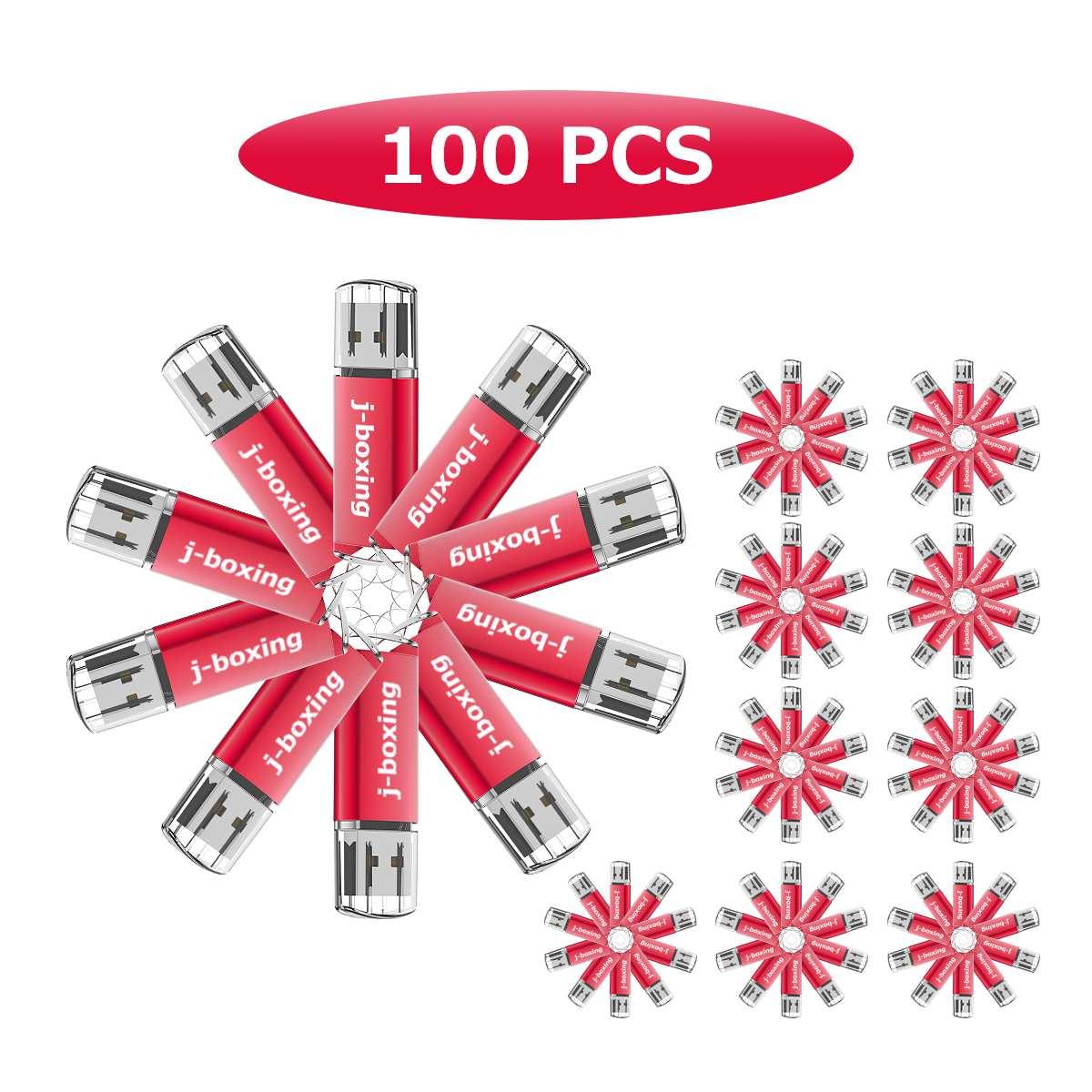 J-boxing 100X 1GB USB Flash Drive Printed Custom logo Rectangle Engraved Personalize Name Thumb Pen Drive 2GB 4GB 8GB 16GB 32GB enlarge