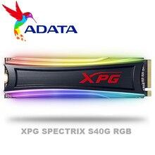 ADATA XPG SPECTRIX S40G RGB PCIe Gen3x4 M.2 2280 Solid State Drive For Laptop Desktop Internal hard drive 256G 512G