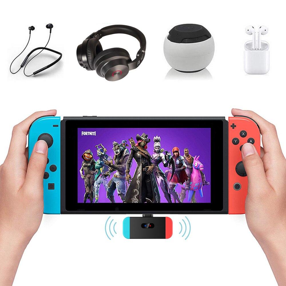 Adaptador de Audio Bevigac USB-C a Bluetooth transmisor de Audio inalámbrico para Nintendo 4 PS4 accesorio