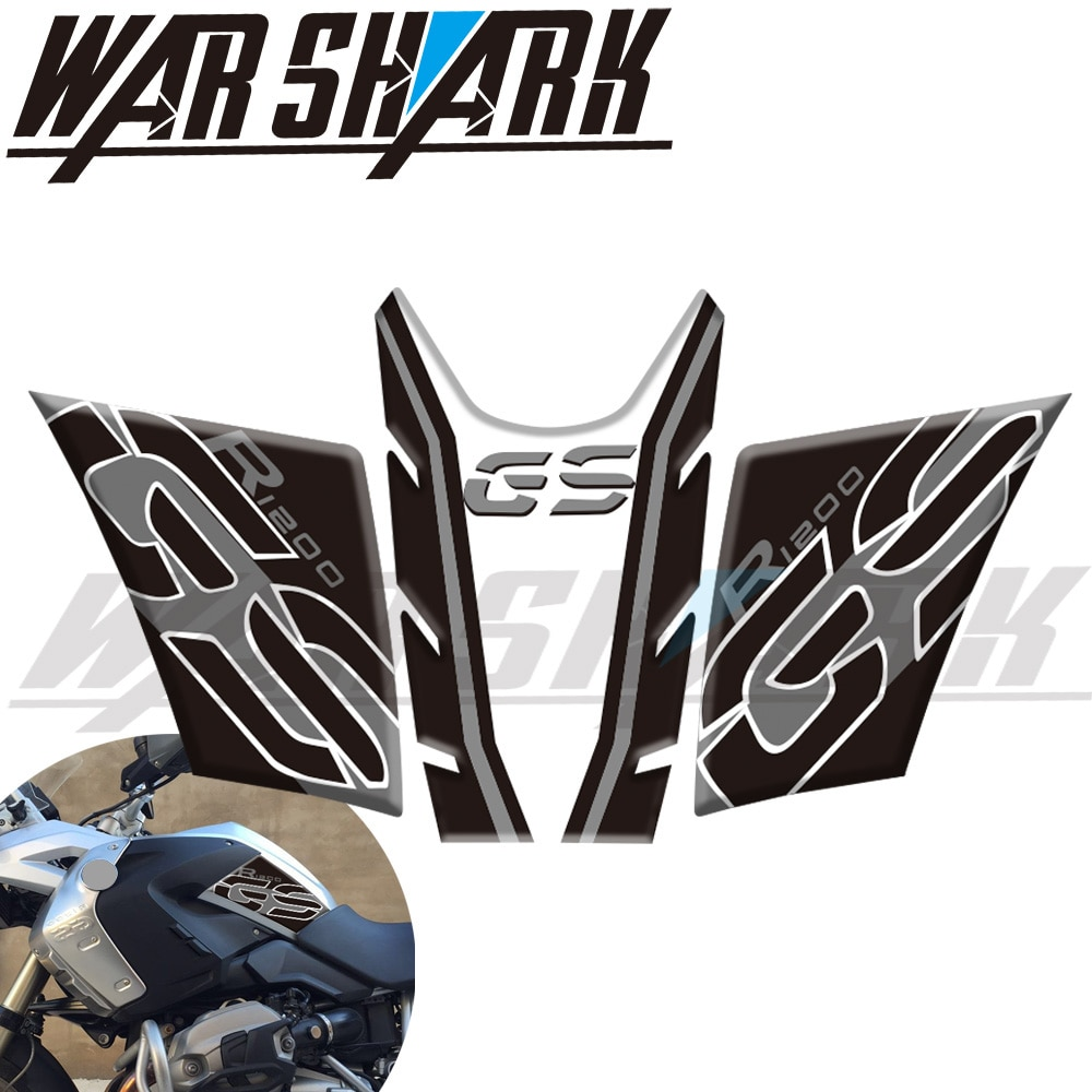 new 3d gel fuel tank side protection sticker fuel tank deca0ls racing kit sticker for bmw f850gs f850 gs 2020 New Sticker Motorcycle Fuel Tank Cover Sticker Fuel Tank Side  Protection Sticker For BMW R1200GS R 1200 GS 2005-2012