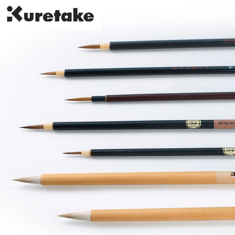 ZIG Kuretake Cartoonist Menso Calligraphy Brush Pen Watercolor Painting Comic Line&Illustration Drawing Mixed Hair Tip Marker