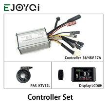 EJOYQI KT contrôleur 36V 48V 17A 350W contrôleur étanche LCD5 LCD8H couleur affichage PAS contrôleur ensemble eBike Kit de Conversion