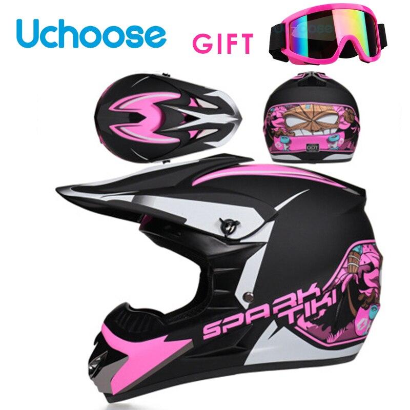 Hot Professional Motobike Motorcycle Helmets Moto Racing Motocross Off-road Children Helmet Casque Moto Capacete Moto Casco
