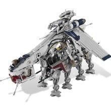 05053 1788 шт настоящая звезда была Республика Прямая поставка с At-ot Walker набор строительных блоков Кирпичи совместимые Lepining 10195 игрушки