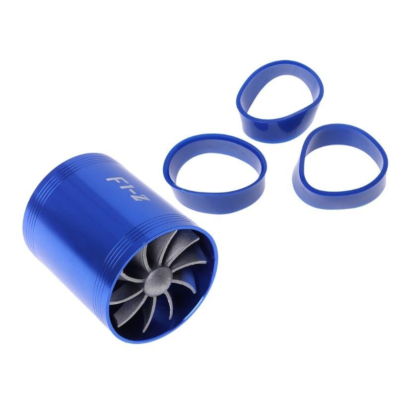 NoEnName_NullNew F1-Z supercargador Universal turbina Turb, ventilador de ahorro de Gas de combustible de admisión de aire BL/BK