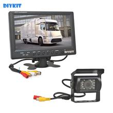 DIYKIT Kit de moniteur de voiture filaire   12V-24V DC, 9