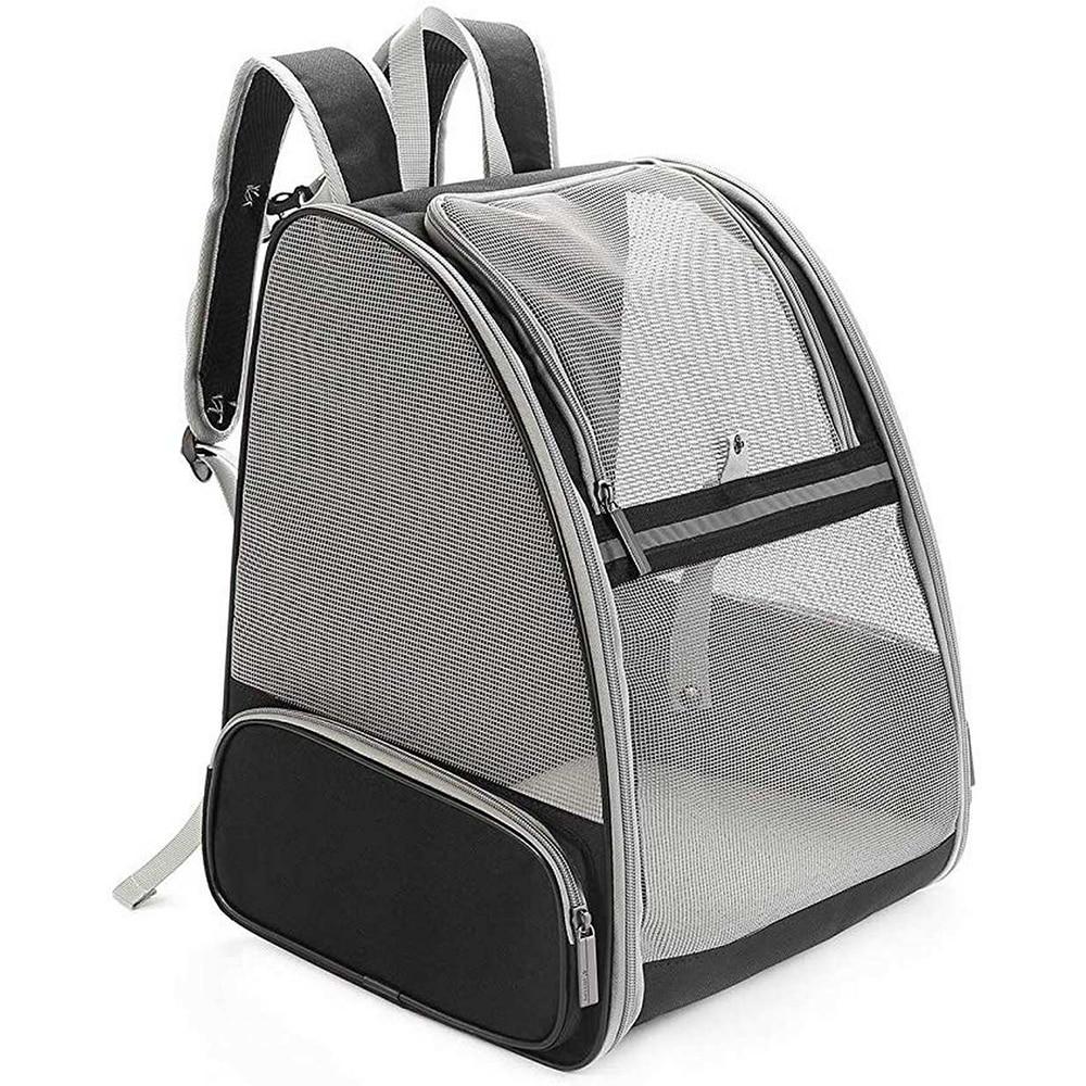 Bolsa para perros, mochila para perros transpirable, bolsa para gatos de gran capacidad para transportar la mascota portátil al aire libre, venta al por mayor