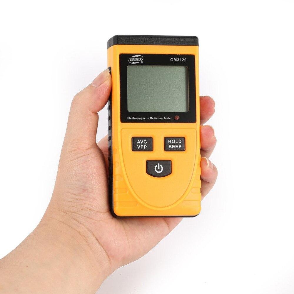 Detector de Radiação Contador para Computador Benetech Digital Eletromagnética Medidor Dosímetro Tester Telefone tv Gm3120 Lcd
