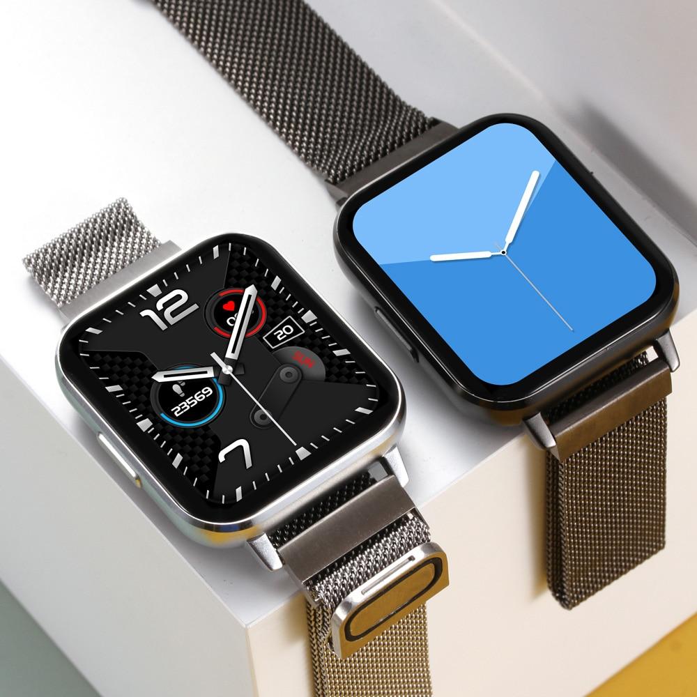2020 جديد Ecg ساعة ذكية الرجال Hd شاشة كبيرة 24 ساعة رصد معدل ضربات القلب IP68 مقاوم للماء النساء Smartwatch ل أندرويد IOS
