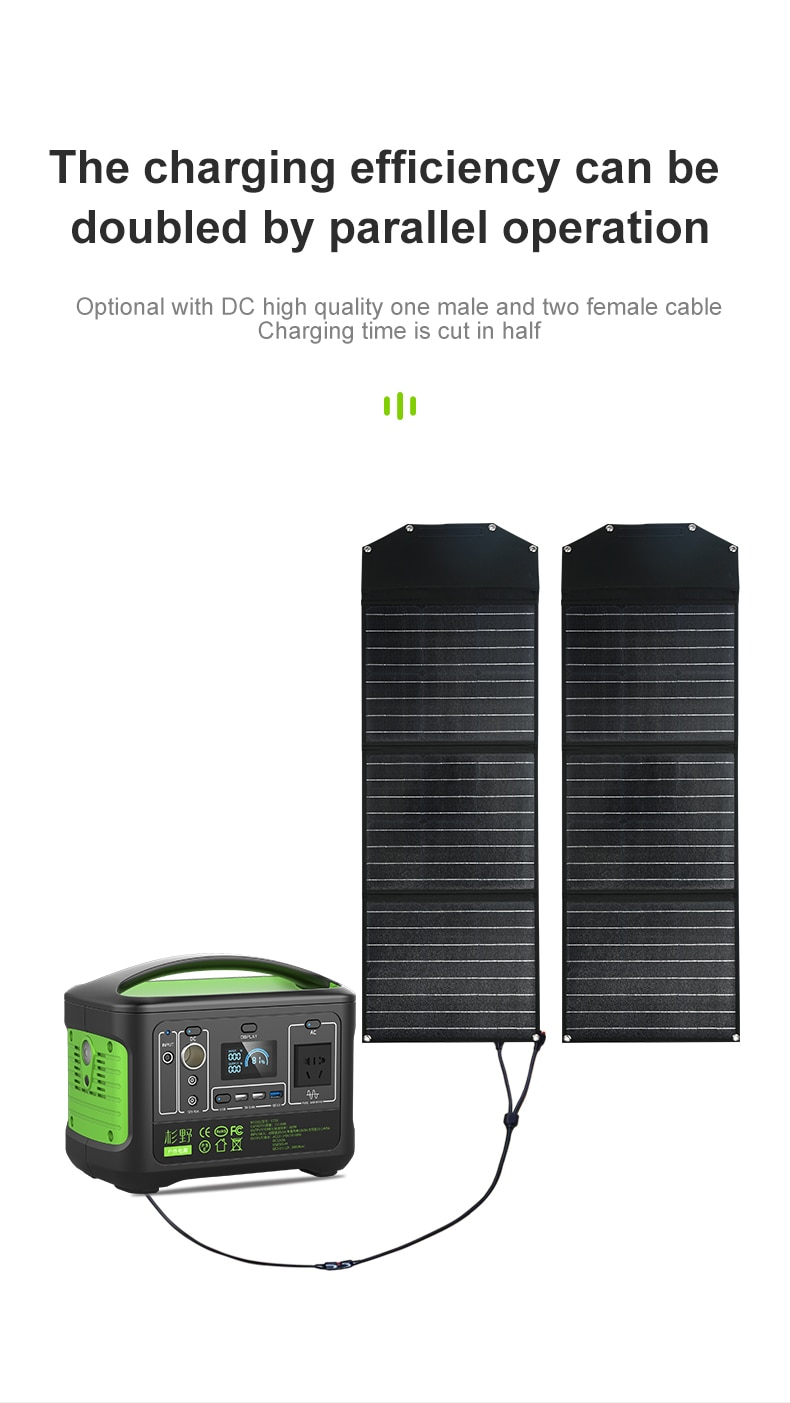 Support Sale G710 192000Wh Power Station+100W Solar Panel Classical Design Big Capacity For Outdoor Travel Home Backup AC600W