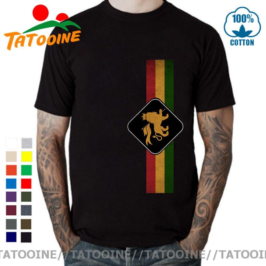 Tatooine Camiseta Vintage León Rasta PERÍODO DE SESIONES T camisa Retro Rastafari...