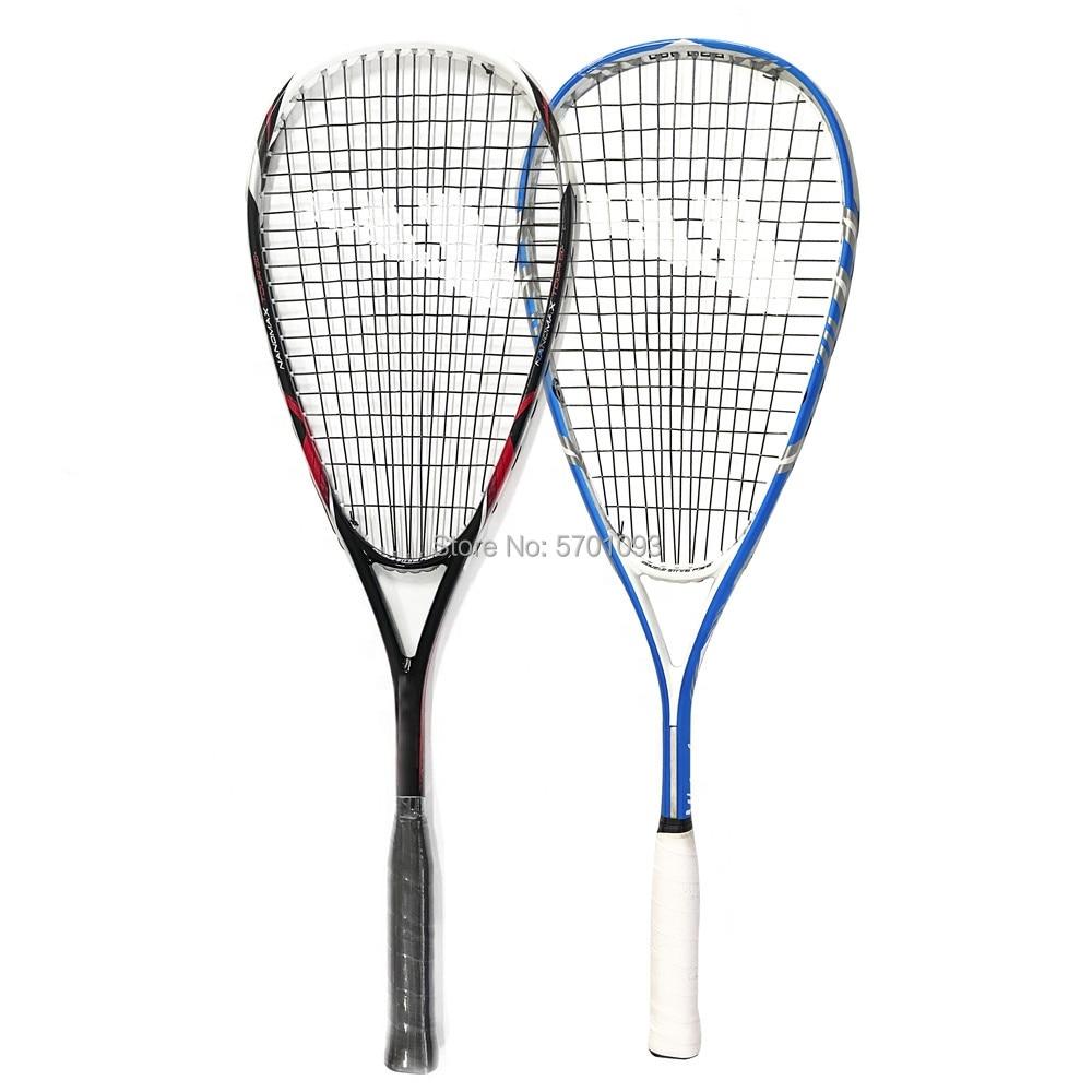Pure Graphite Speedminton Squash Racket - Full Size with Durable Strings Crossminton Speed Badminton