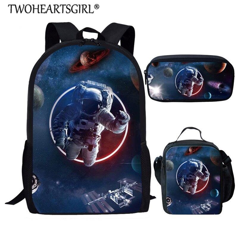 Sistema Solar Twoheartsgirl, diseño de Mochila Escolar para niños, niñas, bolsa de...