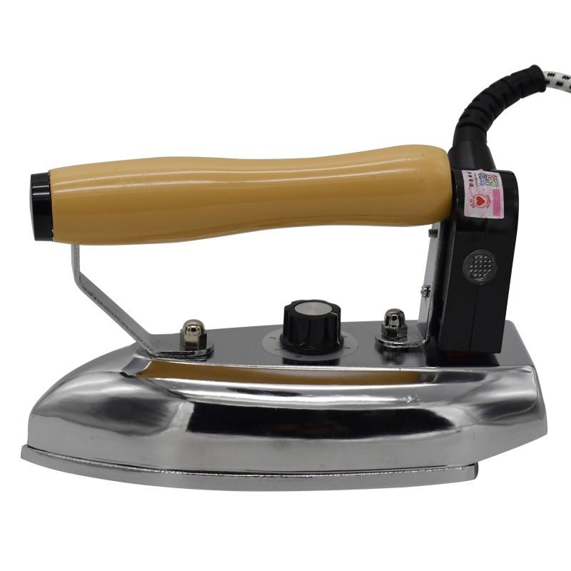 Lndustrial الكهربائية الحديد 80-180 درجة الفولاذ المقاوم للصدأ لوحة الصلب مع 2.4 متر كابل 900W220V