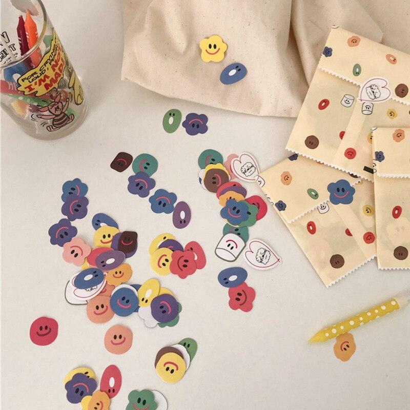 110-pz-pacco-adesivi-smiley-color-caramella-carino-super-multi-adesivo-sigillante-studente-materiale-fai-da-te-scuola-ufficio-strumenti-di-decorazione