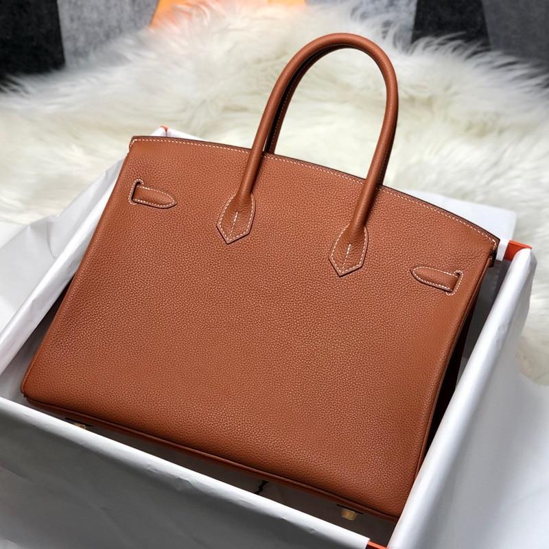 Sac à main en cuir de haute qualité avec motif litchi pour femmes, portefeuille de luxe, élégant, 2021