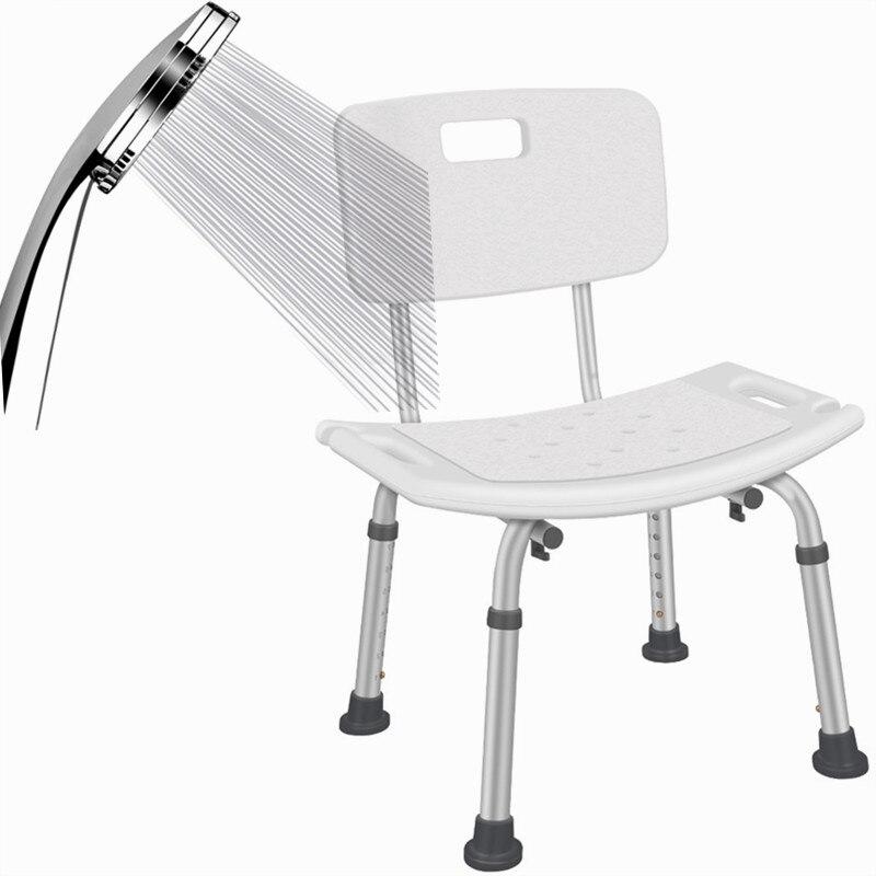 كرسي حمام غير قابل للانزلاق حمولة 100 كجم ، مرحاض حمام للأطفال ، النساء الحوامل ، كبار السن ، 7 سرعات ، ارتفاع قابل للتعديل ، أثاث ميوبليس
