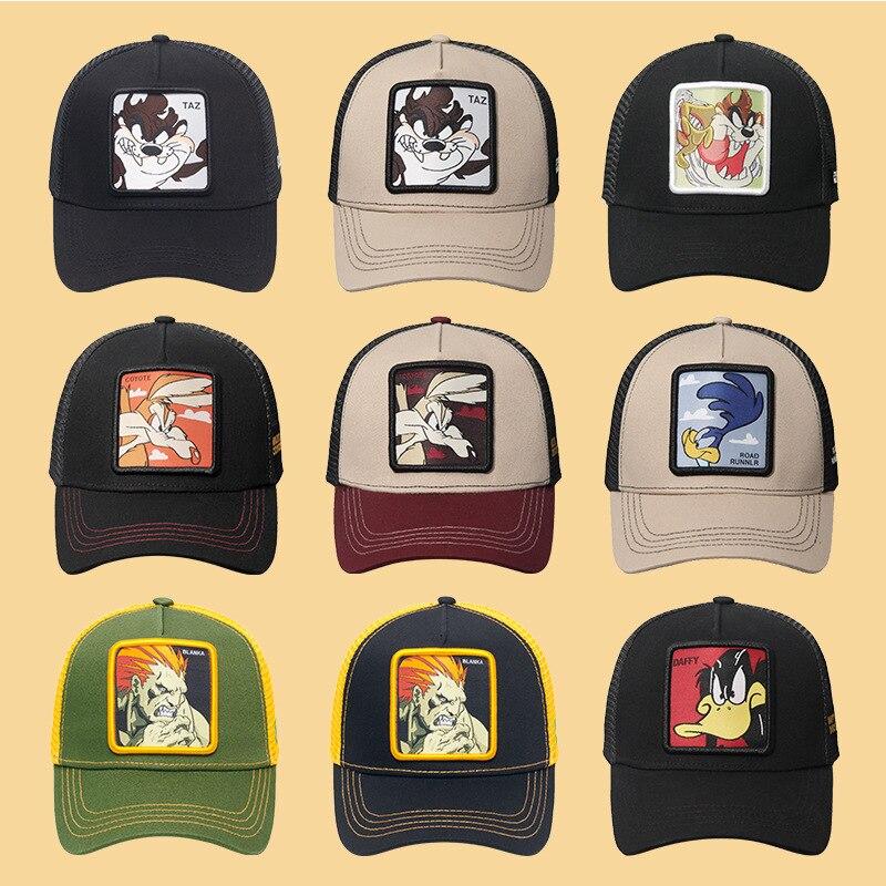 DRAGON BALL MARVEL Snapback Cap Cotton Baseball Cap Men Women Hip Hop Dad Mesh Hat Trucker Dropshipping