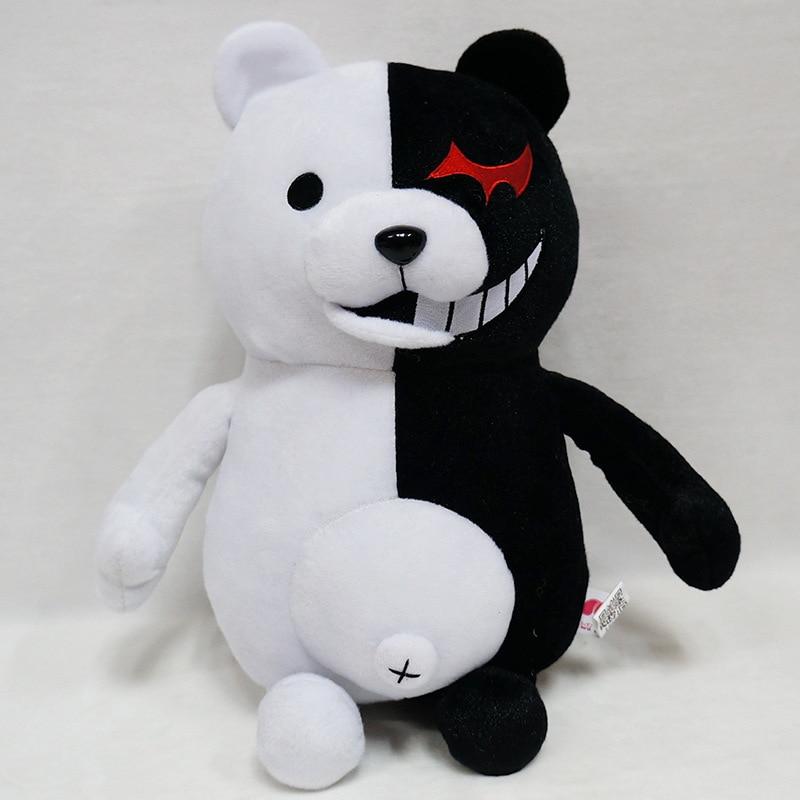 Dangan Ronpa Super Danganronpa 2 Monokuma Bear Plush Toy Anime Plushie Monomi Stuffed Animals Doll Birthday Gifts for Children new anime danganronpa backpack cosplay monokuma luminous canvas bag schoolbag dangan ronpa travel bags