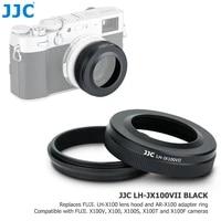 jjc camera lens hood shade protector adapter ring for fujifilm x100v x100 x100s x100t x100f replace fujifilm lh x100 ar x100