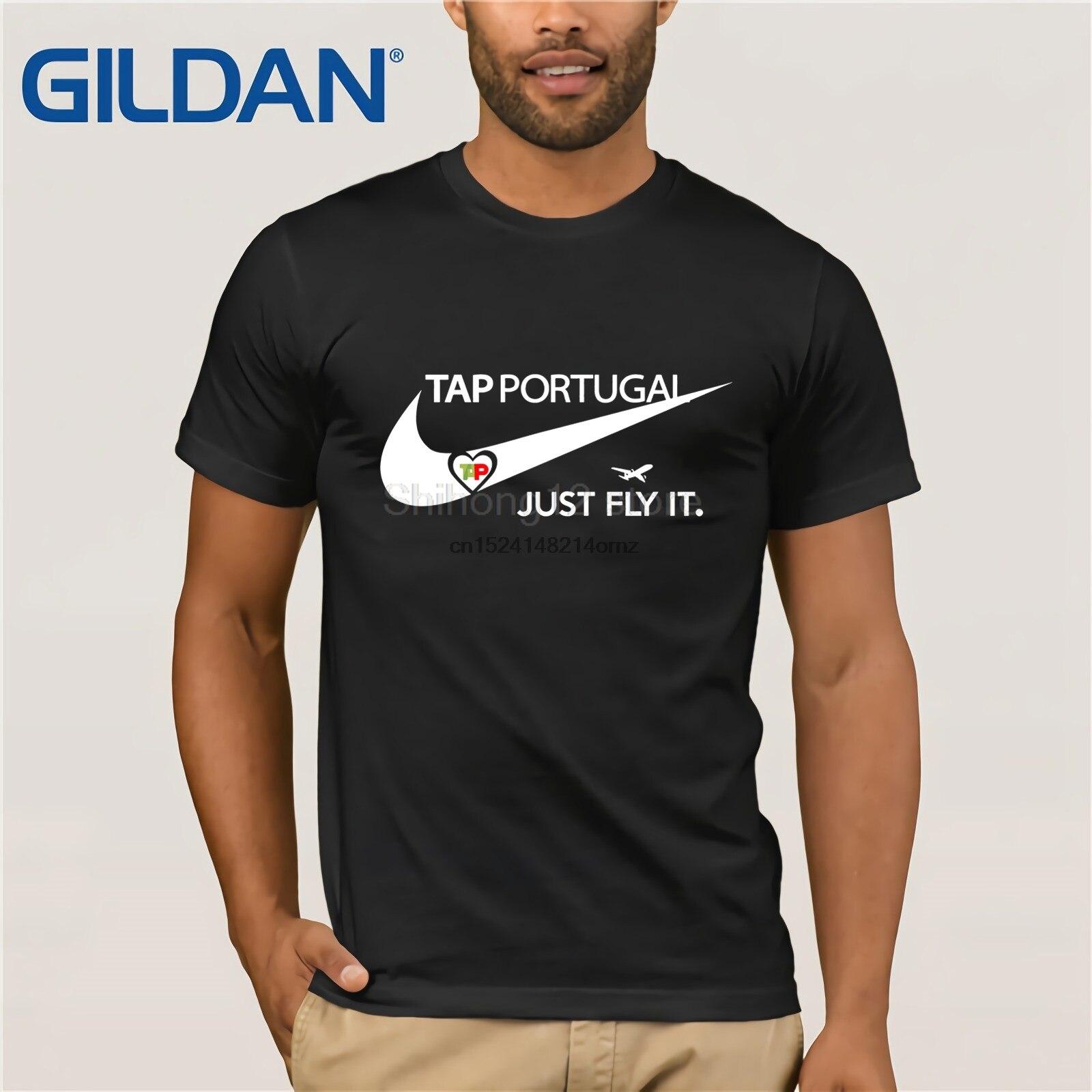 Camiseta de moda 2019 para hombre TAP Air Portugal fly