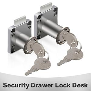 Security Drawer Lock Desk Wardrobe File Cabinet Locker Cylinder Cam Lock Keys Furniture Office Desk Letter Box Cam Locks Tools