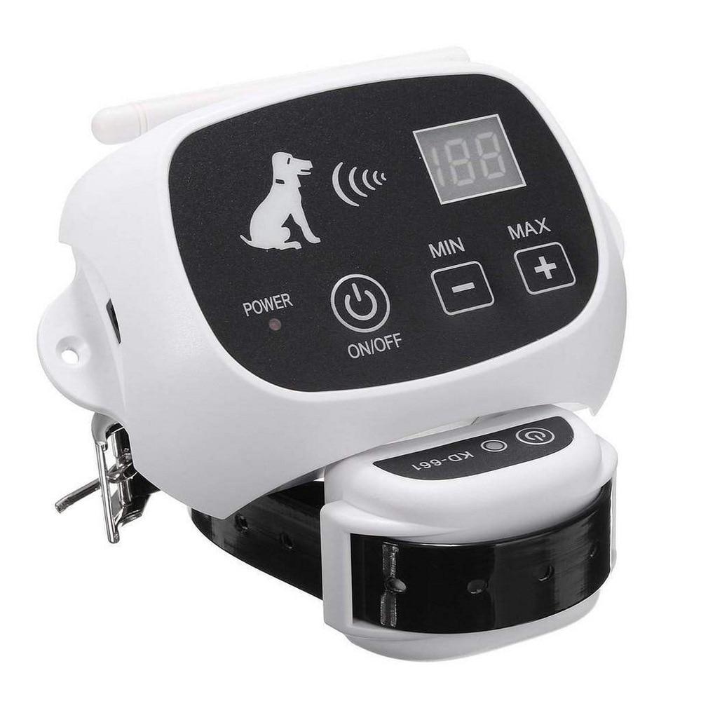Wireless Remote Hund Zaun System KD-661Pet Elektronische Fechten Gerät Wasserdicht Hund Ausbildung Kragen Elektrische Schock 0-100 Ebenen