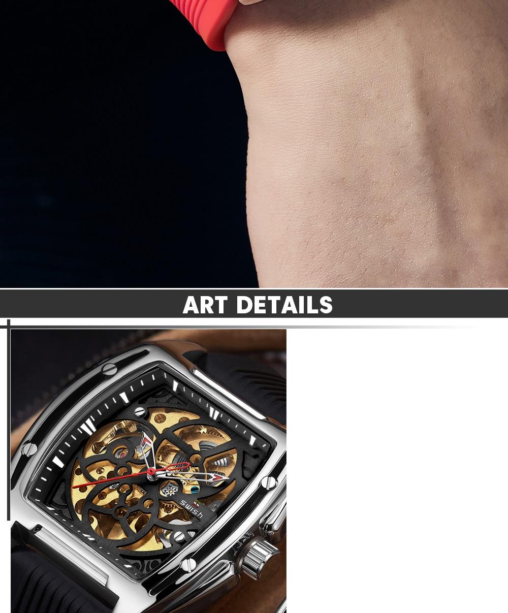 Habadd1cbedcb4ffeabe8aebed965fc1a4 SWISH Brand Design Luxury Men's Mechanical Wristwatch
