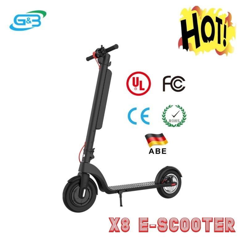 Patinete eléctrico de 2 ruedas para Adulto, batería de vatios, 350