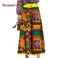 2019 autumn african woman clothing ankara wax print skirts bazin wax print africa skirt dashiki african clothes wy4977