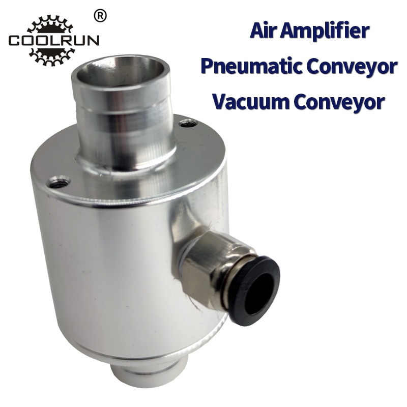 black treadmill pvc conveyor belt Pneumatic Conveyor Air Amplifier Pneumatic Feeder  Conveyor Particle Conveyor Vacuum Conveyor Aluminum Material
