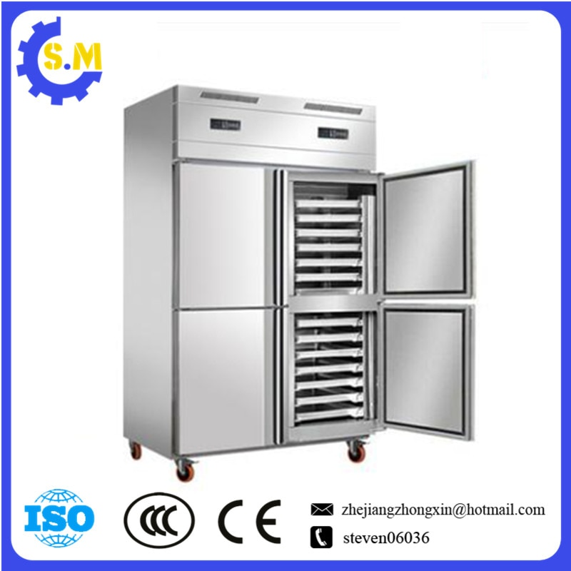 Commercial baking freezer  vertical large capacity refrigerator Freezer air cooling frost free kitchen bakery freezer