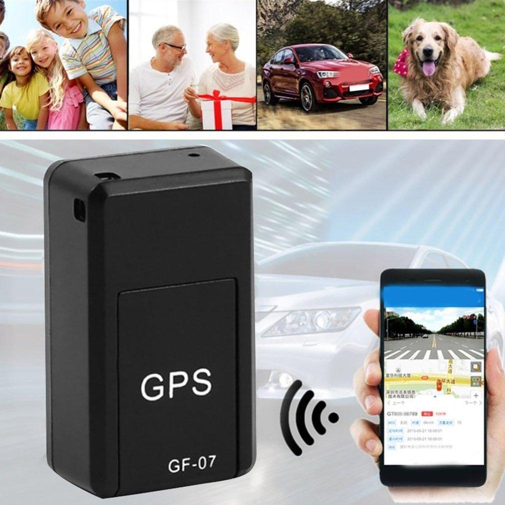 GF07 магнитный мини-автомобильный трекер GPS в режиме реального времени, локатор для отслеживания, магнитный GPS-трекер, локатор для транспортно...