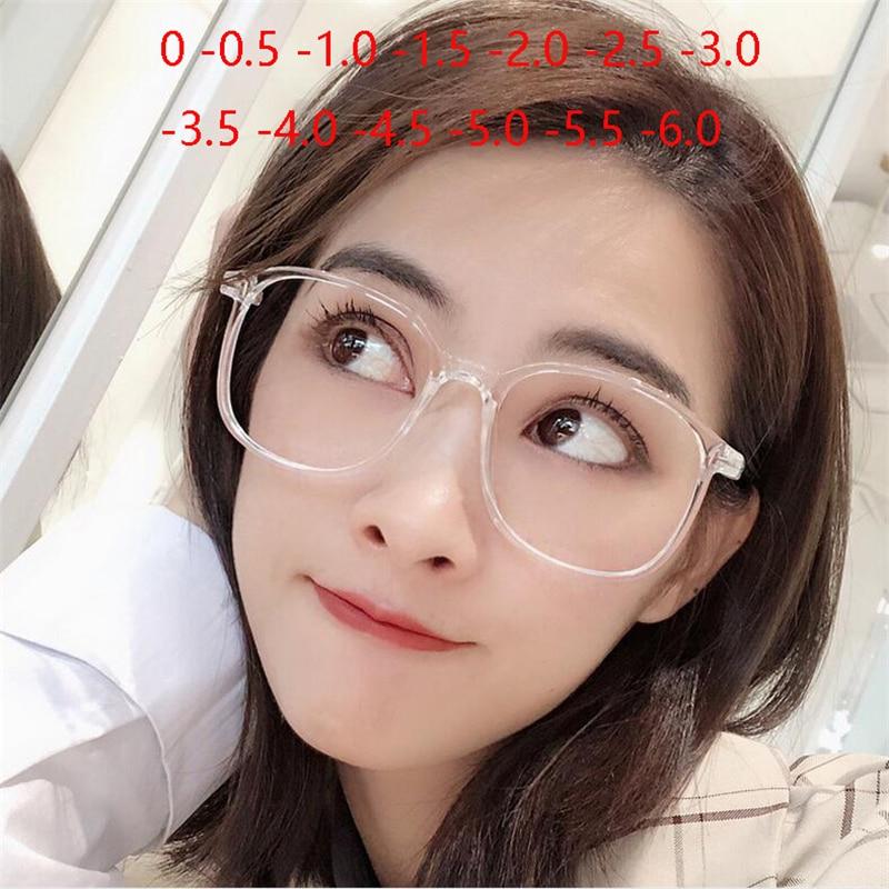 Retro gafas de las mujeres de los hombres de luz Ultra miopía gafas terminado-1-1,5-2-2,5-3-3,5-4-4,5-5-6,0