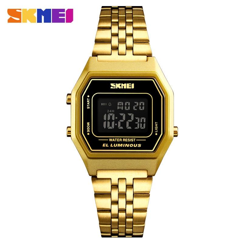 Брендовые Цифровые мужские часы SKMEI G, роскошные спортивные наручные часы с секундомером, электронные часы для мужской будильник