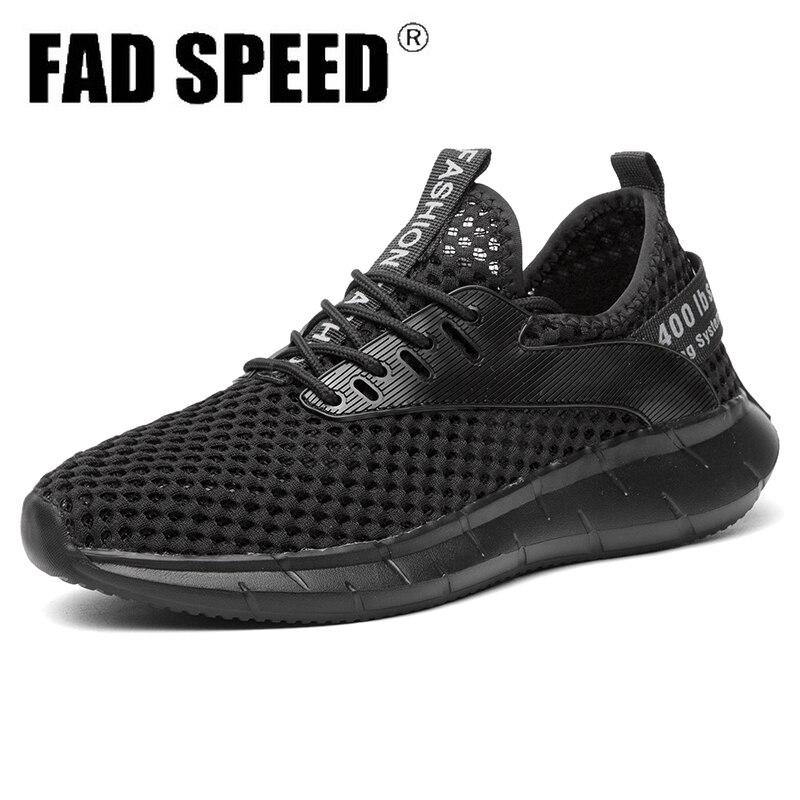 Verano de las mujeres de los hombres corriendo de luz de Zapatos Deportivos Jogging barato negro blanco gris de encaje zapatillas de deporte atléticos zapatillas