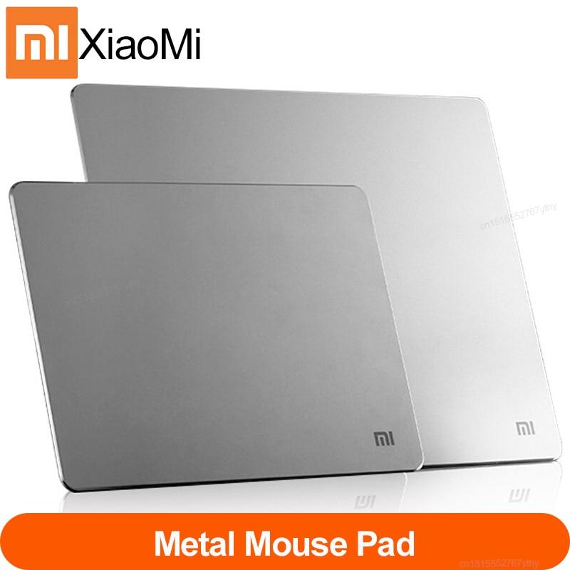 Xiaomi MI Original Metal Aluminum Alloy Mouse Pads Anti-skid Slim Mouse Pad PC Computer Laptop 300*2