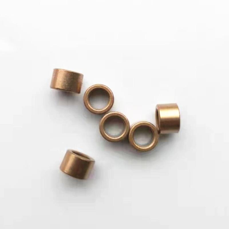 AZGIANT 10pcs 6*9*6/9mm Copper base oil bearing powder metallurgy precision copper sleeve