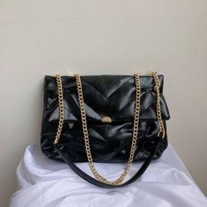 Fashion New Soft PU Leather Crossbody Bag Women's Designer Handbags and Purses Small Black Shoulder Bag Branded Clutch