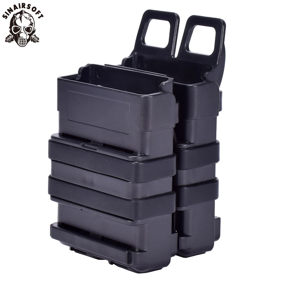 Ao ar livre abay tático m4 5.56 fastmag molle bolsa militar wargame airsoft titular mag rápido caça pistola revista bolsa