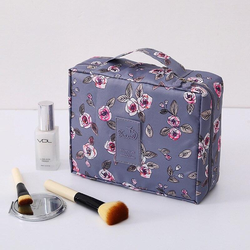 Die Neue reise Kosmetik Tasche Neceser Frauen Make-Up Taschen Pflege Veranstalter make-up Tasche Wasserdichte Weibliche Speicher Make up Tasche