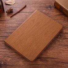 Neue Coque Für iPad mini 1 2 3 Fall Holz PU Leder Smart Cover Für iPad mini 2 mini 3 fall Auto-Schlaf Fall A1432 A1454 7,9