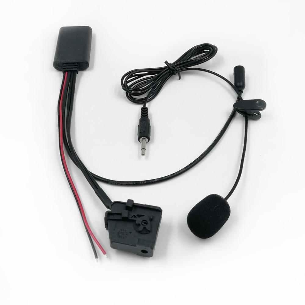 150 см Bluetooth 5,0 музыкальный приемник автомобильный Stero Bluetooth Handsfree телефонный звонок адаптер для сиденья Skoda Volkswagen MFD2 RNS RNS2
