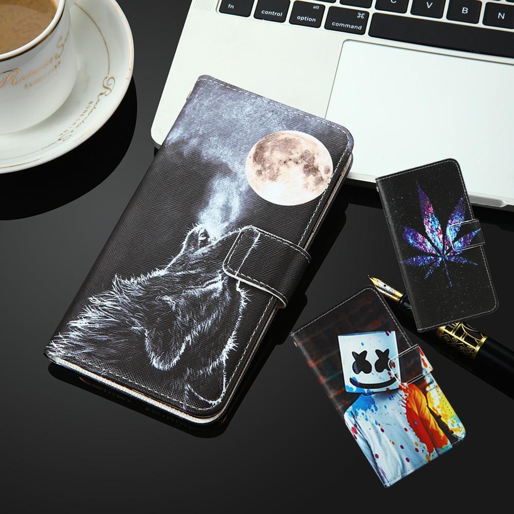For Ark Benefit Note1 S403 S452 S453 S503 Max S504 M501 M502 Elf E1 Wizard 1 Painted flip cover slot phone Case