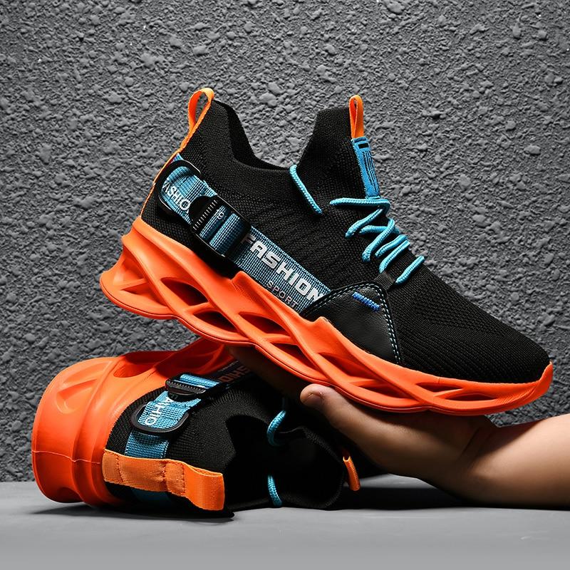 Zapatos deportivos para mujeres, 2021 hombres Zapatillas de deporte de malla transpirable...