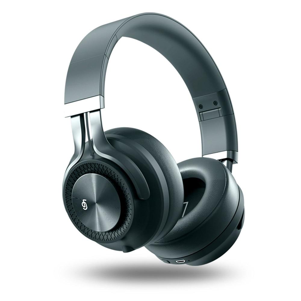 Cancelamento de Ruído Fones de Ouvido sem Fio com Microfone para o Telefone do Computador Som de Alta Fingertime Ativo Graves Profundos Fidelidade Anc Bluetooth