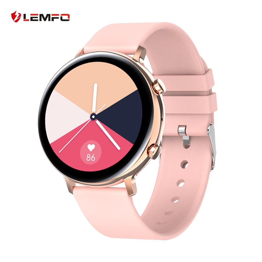 LEMFO Smart Watch Men Women HD Screen ECG+PPG Monitoring IP67 Waterproof Bluetooth Call Smartwatch for IOS Android