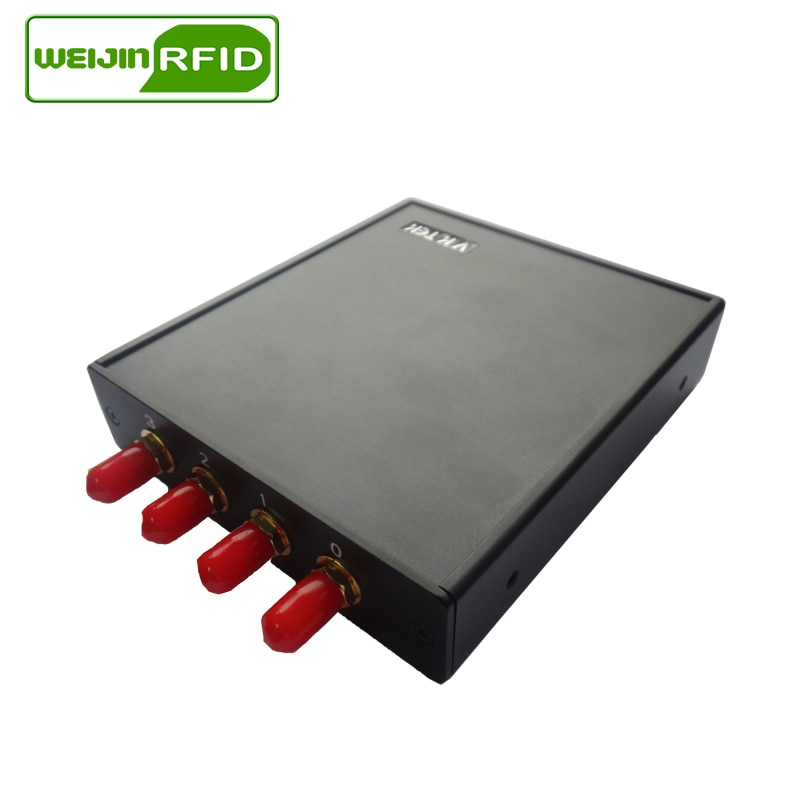 rfid reader uhf fixed integrated tag encoder impinj chip writer copier 868m 915mhz free sdk EPC ISO18000 6C induction scanner