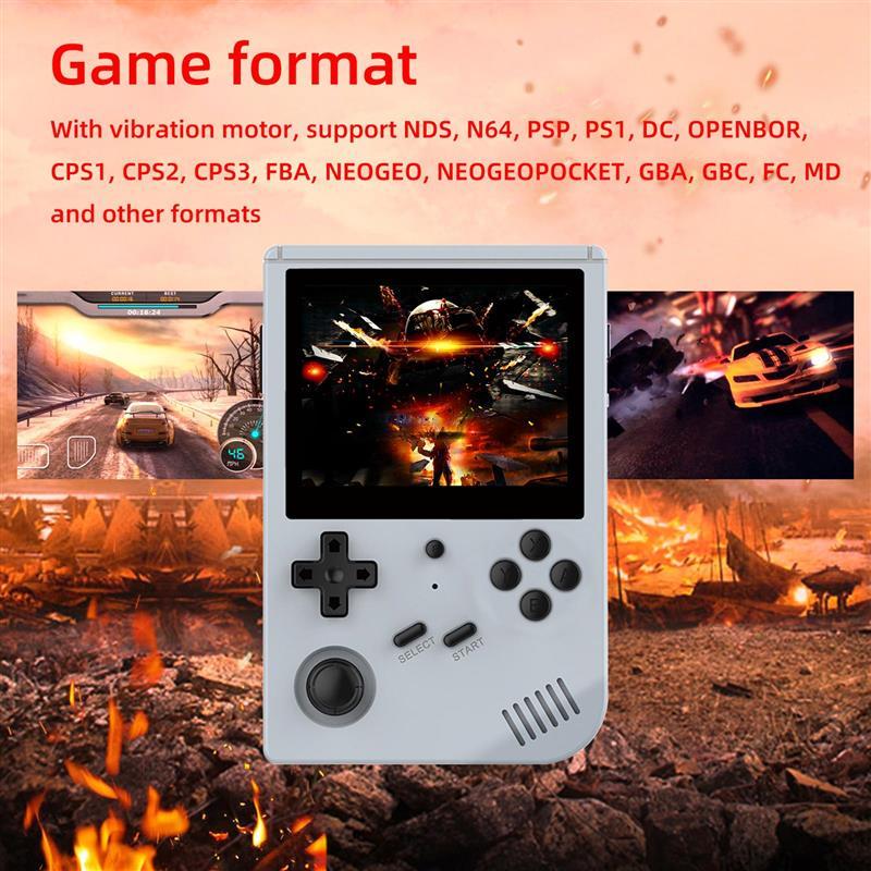 RG351MP RG351V يده ريترو لعبة وحدة التحكم مفتوحة المصدر لينكس نظام لعبة فيديو 3.5 بوصة HD IPS شاشة RG351P RG351M ريترو لعبة